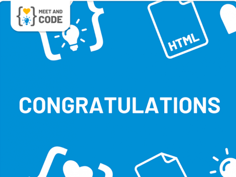 The winners of Meet and Code - 2019